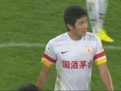 视频集锦-辽足逃红牌点球 遭于海93分钟头球绝杀