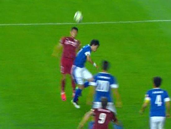 进球视频-孔卡精准传中 武磊头球被扑补射扳平