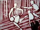 视频-沙画描绘书豪成功之路 神奇小子掀起林氏热浪