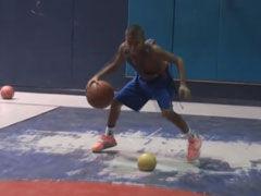 美12岁篮球少年训练