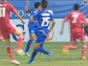 视频-国青小将内切射门 泰国队员禁区手球遭无视