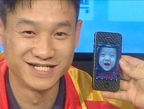 视频-杨威首曝爱子照片晒幸福 身体不错欲子承父业