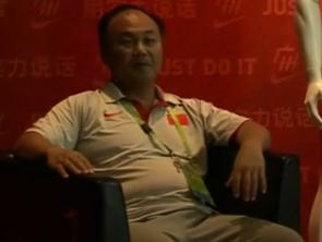 视频-中国举重队总教练陈文斌:总结全队亚运表现