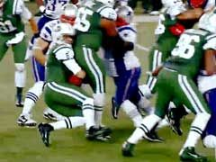 NFL感恩节搞笑场面