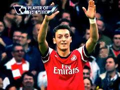 视频-英超第8轮最佳球员 厄齐尔梅开二度当选