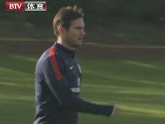 视频-英格兰热身杰拉德缺阵 兰帕德将任三狮队长