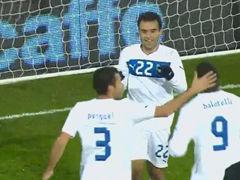 进球视频-巴洛特利突破送助攻 罗西单刀挑射破门