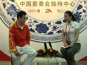 视频-袁晓超:两周前得知将冲首金 学习武术凭兴趣