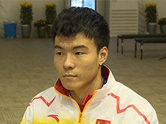 李金哲:目标打破亚洲纪录
