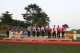 高尔夫男团韩国队夺金