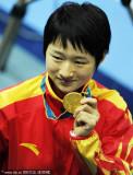 跆拳道女子49公斤吴静钰夺冠