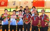 保龄球男子3人赛韩国选手夺冠