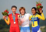 女子公路计时韩国队员夺冠