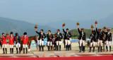 马术三项赛团体日本队夺金