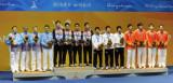 男子重剑团体韩国夺冠