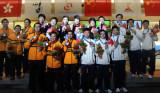 保龄球男子5人队际赛韩国夺金