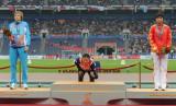 女子100米栏韩国李莲京摘金