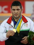 男自由跤96KG级伊朗选手冠军