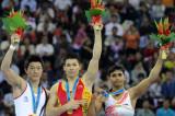 男子自由体操张成龙夺冠