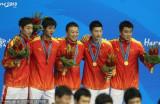 乒乓男团决赛中国夺冠