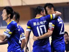 视频集锦-于大宝弧线球凯塔破门 阿尔滨3-0武汉