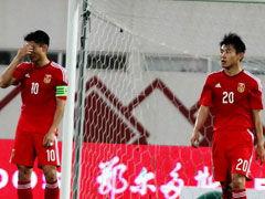 视频集锦-张稀哲破门武磊中柱 国足输球被出线