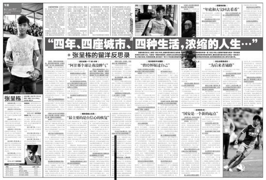 《足球》报专访张呈栋