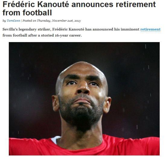 卡努特宣布不再续约国安足协杯成告别战 即将