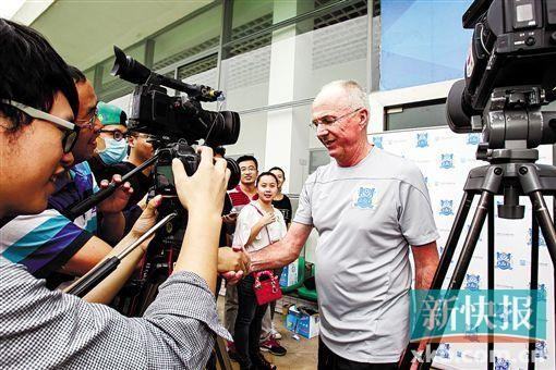 埃帅出席本季最后一次媒体开放日