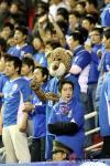 """图文-[中超]上海2-0长沙蓝魔与""""宝宝""""齐上阵"""