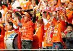 图文-山东鲁能VS大连海昌 看台上刮起橙色旋风