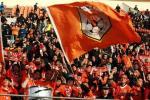 图文-山东鲁能VS广州医药 看台上刮起橙色旋风