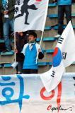 图文-[中超]大连vs河南韩国球迷来为同胞助威