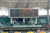 图文-[中超]河南建业2-0杭州计分牌定格在2:0