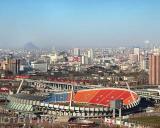 图文-2009赛季中超联赛山东鲁能队山东省体育中心