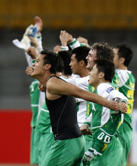 图文-[亚冠]北京国安2-0川崎前锋国安小组出现