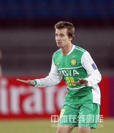 图文-[亚冠]北京国安VS川崎前锋有他在出线没问题