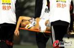 图文-[中超]山东鲁能2-2长春亚泰 王博被飞铲