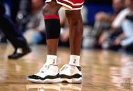 NBA老照片-乔丹篮球鞋走向终结11代堪称史上最靓