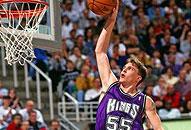 NBA老照片-白巧克力黯然退役国王55号成美好回忆