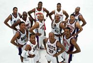 NBA老照片-东部超级后卫联队卡特艾弗森+麦蒂