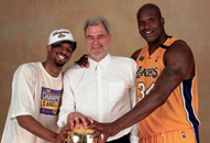 NBA老照片-科比首次夺冠仍显稚嫩当年最强铁三角