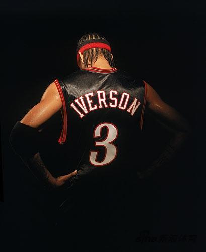 NBA老照片-黯淡的3号永远的回忆艾弗森渐行渐远