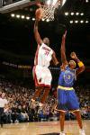 图文-[NBA]热火113-120勇士戴维斯单身上篮