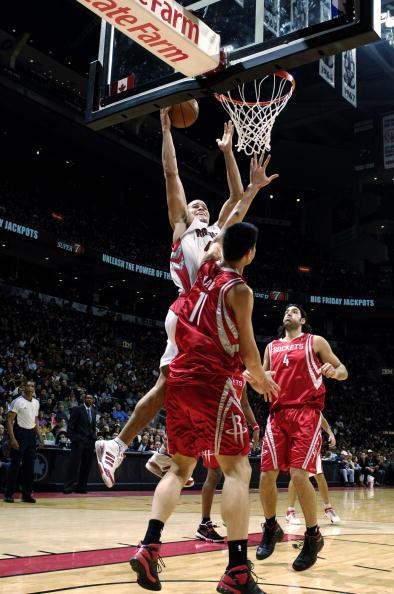 图文-[NBA]火箭80-93猛龙大姚不敢再轻易犯规