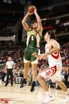 图文-[NBA]超音速89-96火箭斯泽尔比亚克投篮
