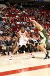 图文-[NBA]超音速89-96火箭麦蒂上场轻松晃动