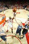 图文-[NBA]爵士69-95火箭穆大叔与AK抢篮板