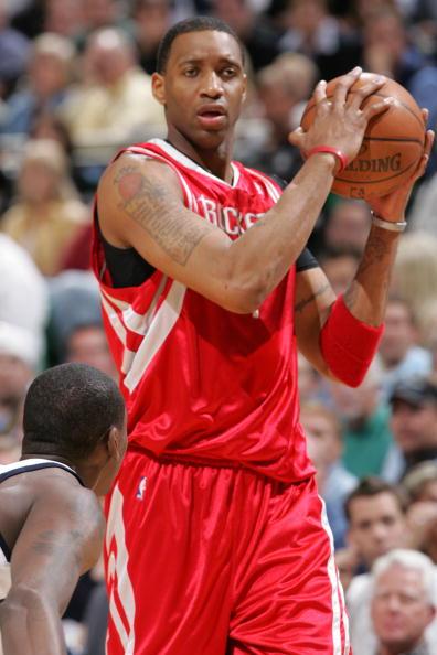 图文-[NBA]火箭91-113爵士赛季结束麦蒂举棋不定