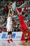 图文-[女篮热身赛]中国VS古巴陈晓丽外围发炮